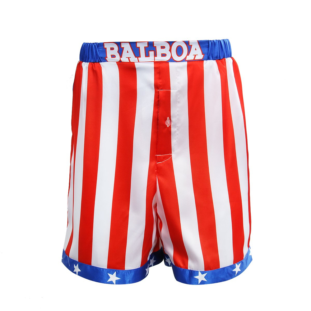 Rocky Balboa Costume - Rocky - Rocky Balboa Shorts