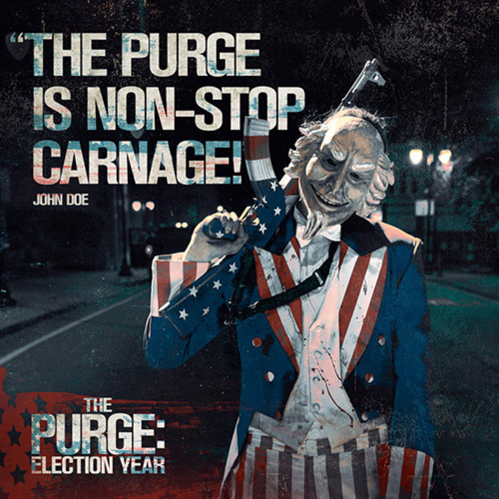 Uncle Sam Costume - The Purge: Election Year - Uncle Sam Gun