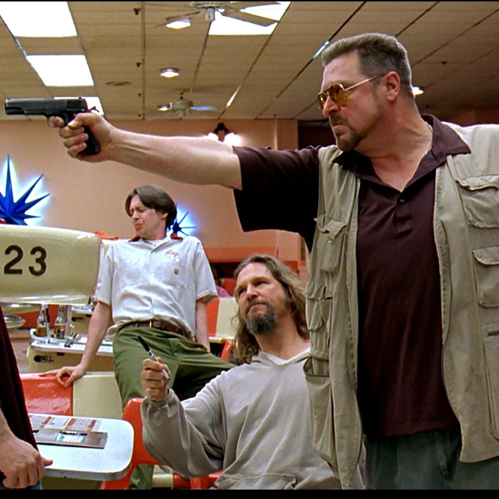 Walter Sobchak Costume - The Big Lebowski - Walter Sobchak Gun