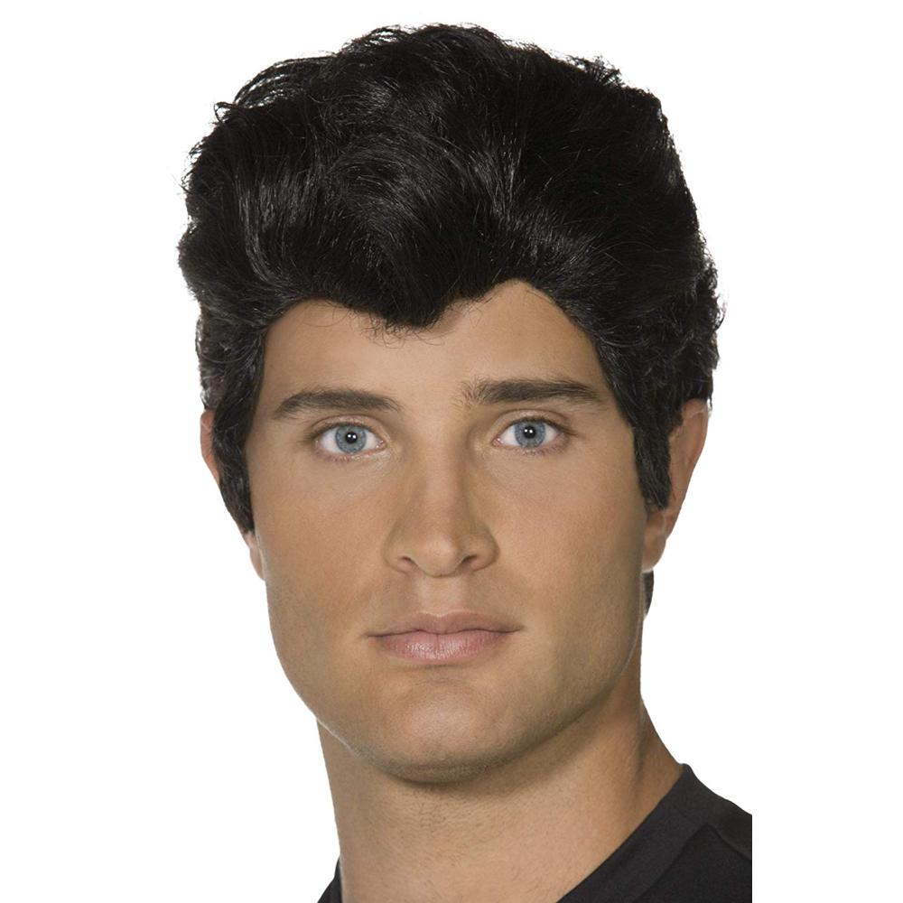 Danny Zuko Costume - Grease Fancy Dress - Danny Zuko Hair Wig