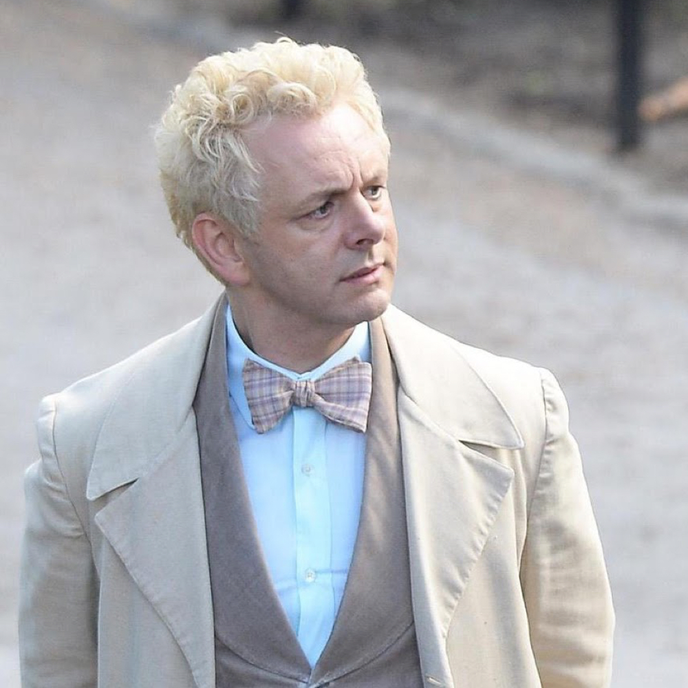 Aziraphale Costume - Good Omens Fancy Dress - Aziraphale Bowtie