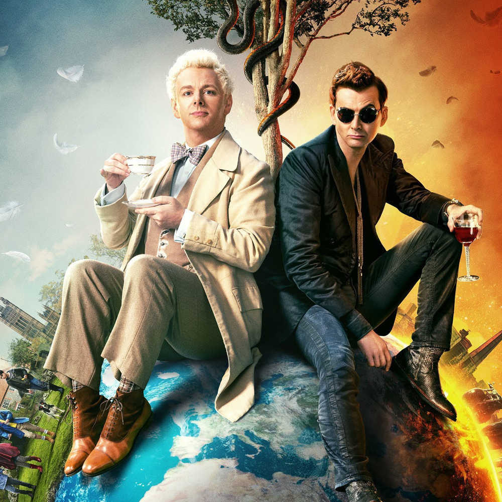 Aziraphale Costume - Good Omens Fancy Dress - Aziraphale Shoes