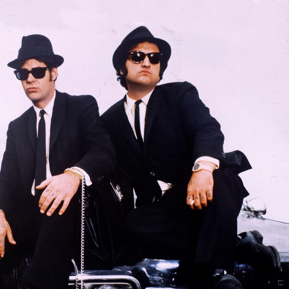 Blues Brothers Costume - Jake and Elwood Fancy Dress - Blues Brothers Shoes