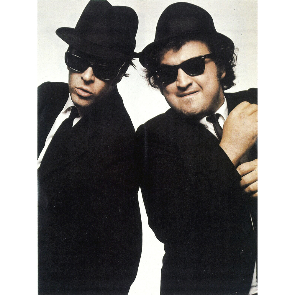 Blues Brothers Costume - Jake and Elwood Fancy Dress - Blues Brothers Shoes Suit