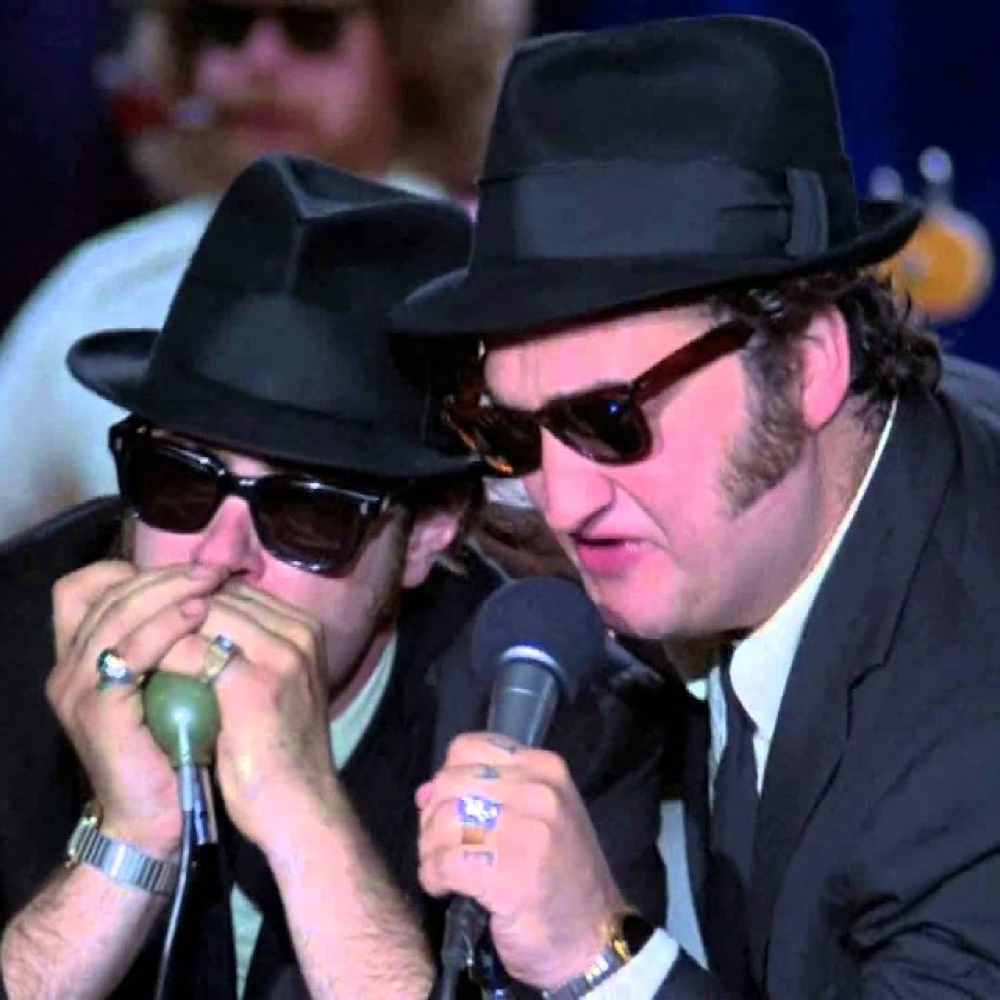 Blues Brothers Costume - Jake and Elwood Fancy Dress - Blues Brothers Shoes Sunglasses