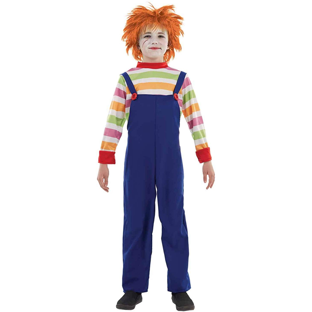 Chucky Costume - Child's Play Fancy Dress - Chucky Complete Costume