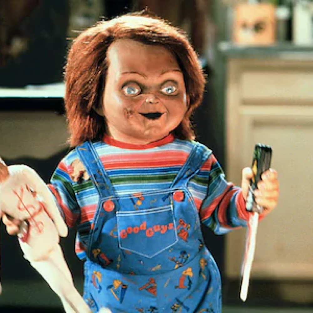 Chucky Costume - Child's Play Fancy Dress - Chucky Dungarees