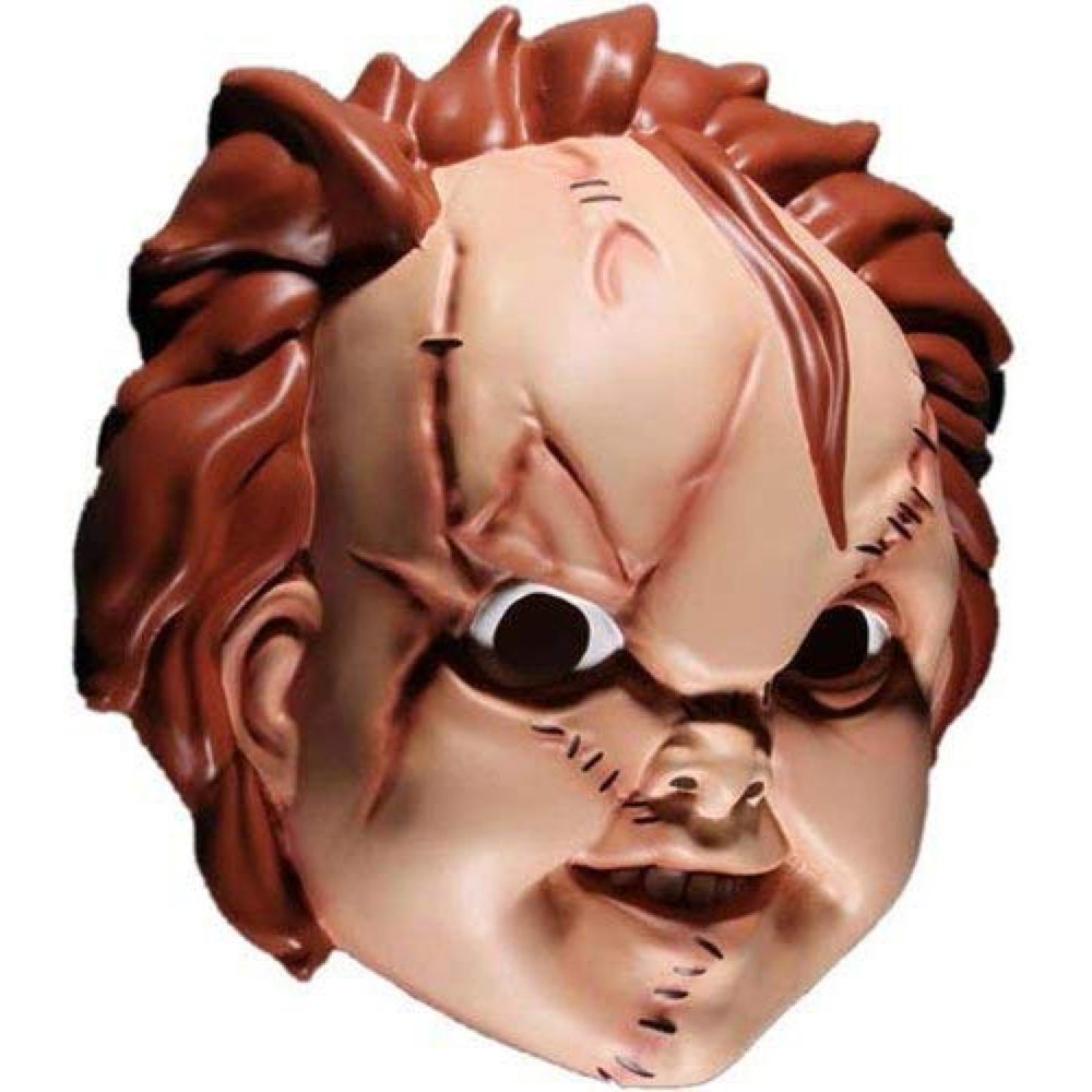Chucky Costume - Child's Play Fancy Dress - Chucky Mask