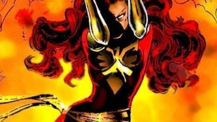 Dark Phoenix Costume - Dark Phoenix Fancy Dress - Dark Phoenix Cosplay
