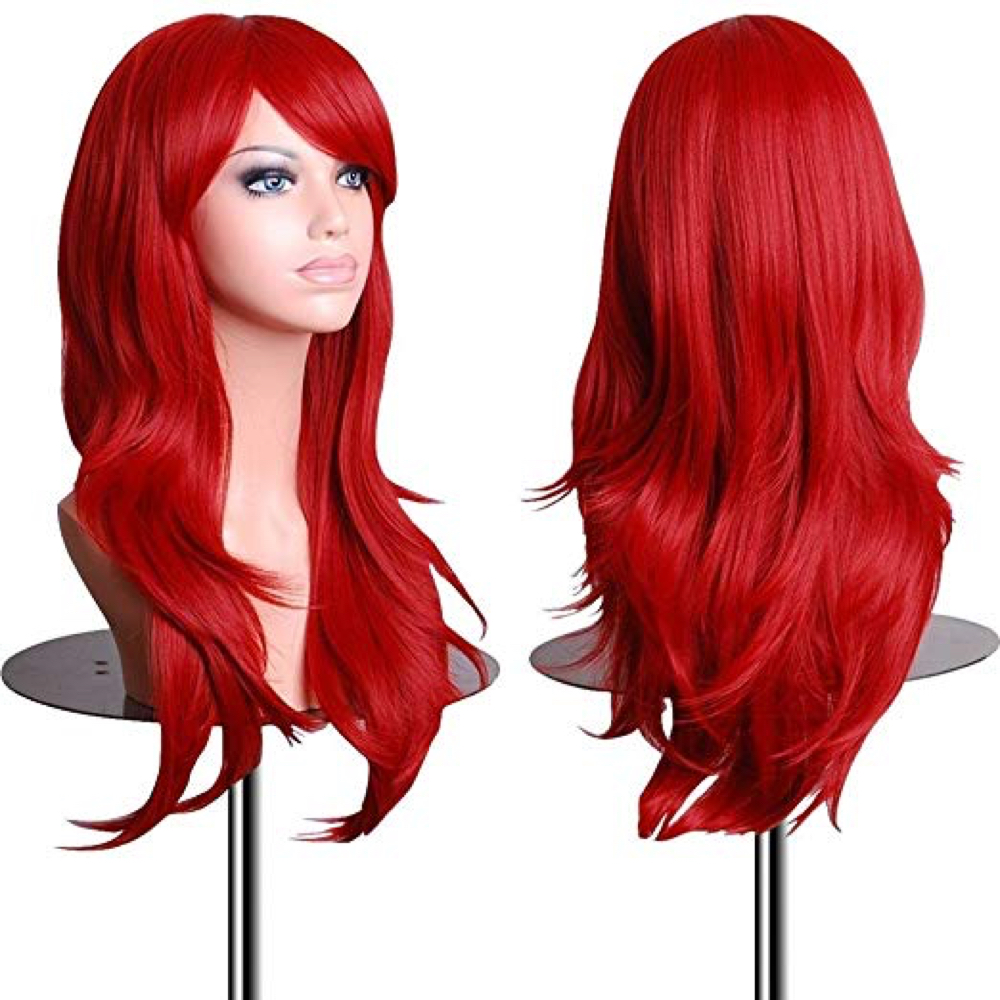 Dark Phoenix Costume - Dark Phoenix Fancy Dress - Dark Phoenix Hair Wig