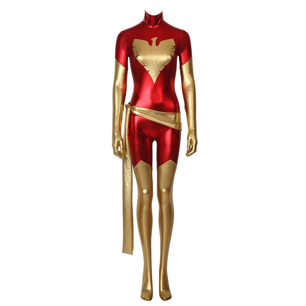 Dark Phoenix Costume - Dark Phoenix Fancy Dress - Dark Phoenix Suit