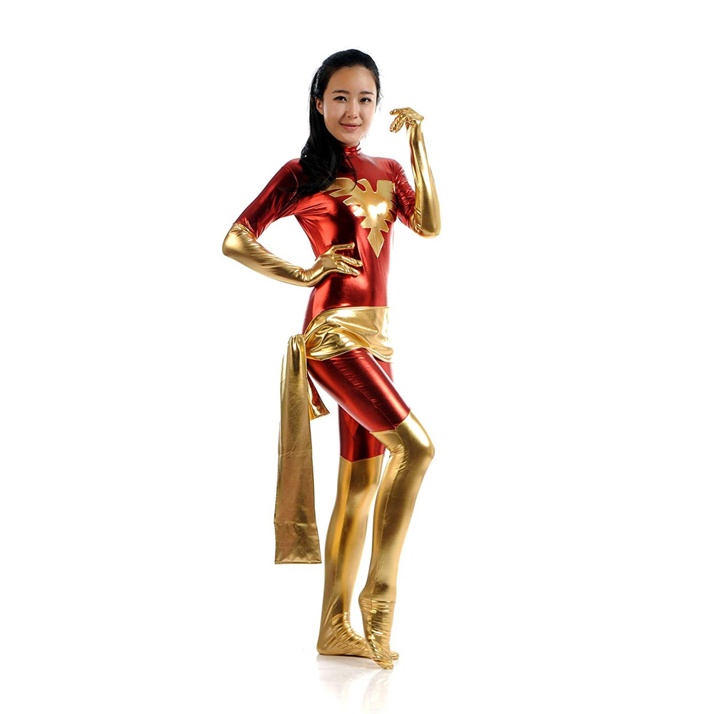 Dark Phoenix Costume - Dark Phoenix Fancy Dress - Dark Phoenix Suit