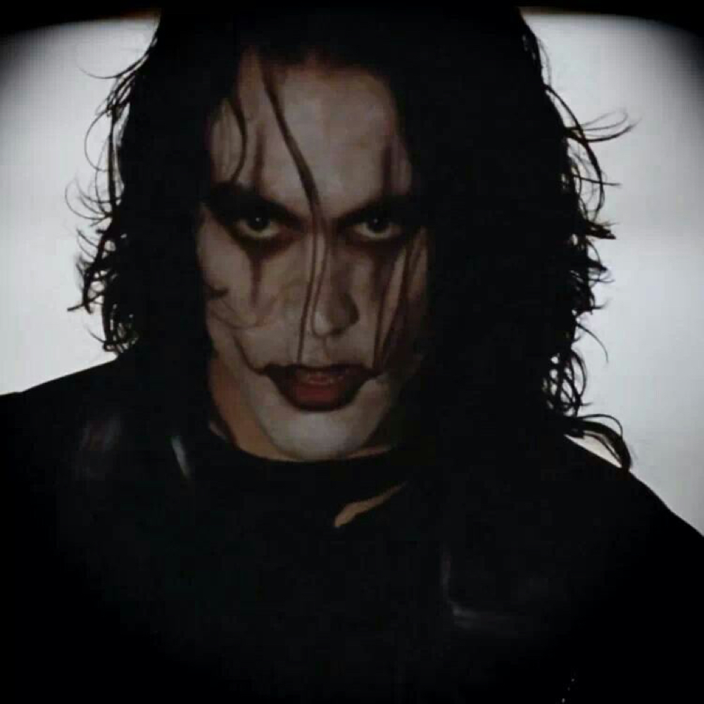 Eric Draven Costume - The Crow Costume - The Crow Fancy Dress - Eric Draven Black Face Paint
