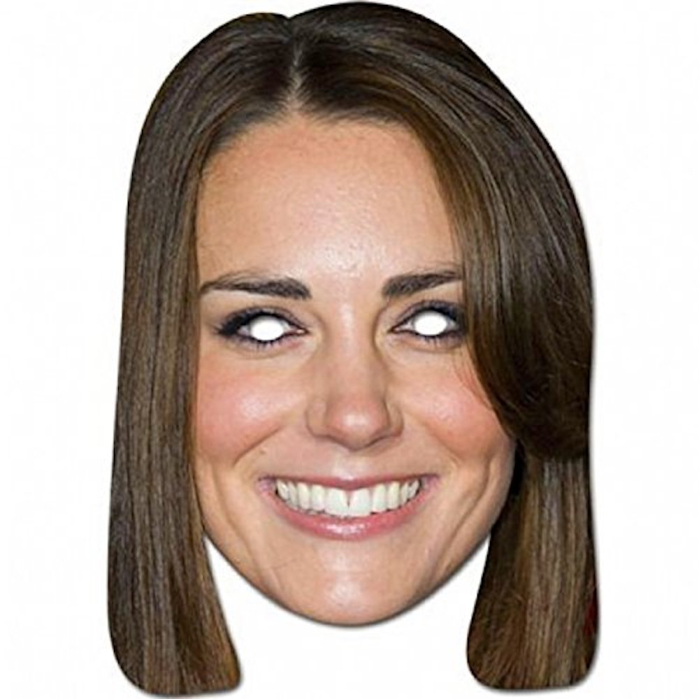 Kate Middleton Bride Costume - Kate Middleton Fancy Dress - Kate Middleton Mask
