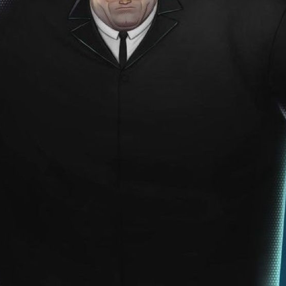 Kingpin Costume - Into The Spider Verse Fancy Dress - Kingpin Necktie