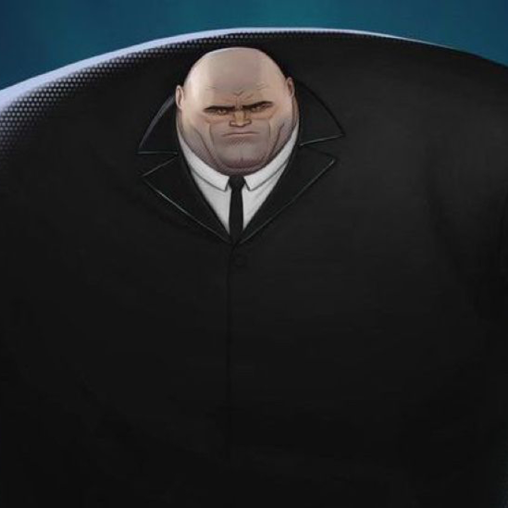 Kingpin Costume - Into The Spider Verse Fancy Dress - Kingpin Shirt