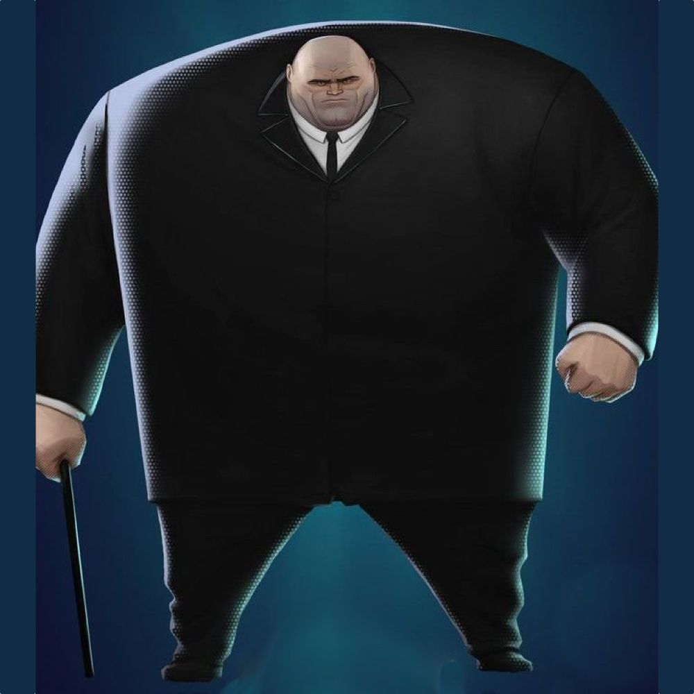 Kingpin Costume - Into The Spider Verse Fancy Dress - Kingpin Suit