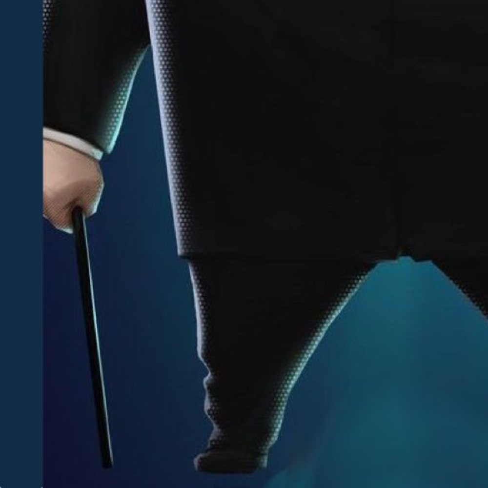 Kingpin Costume - Into The Spider Verse Fancy Dress - Kingpin Walking Cane