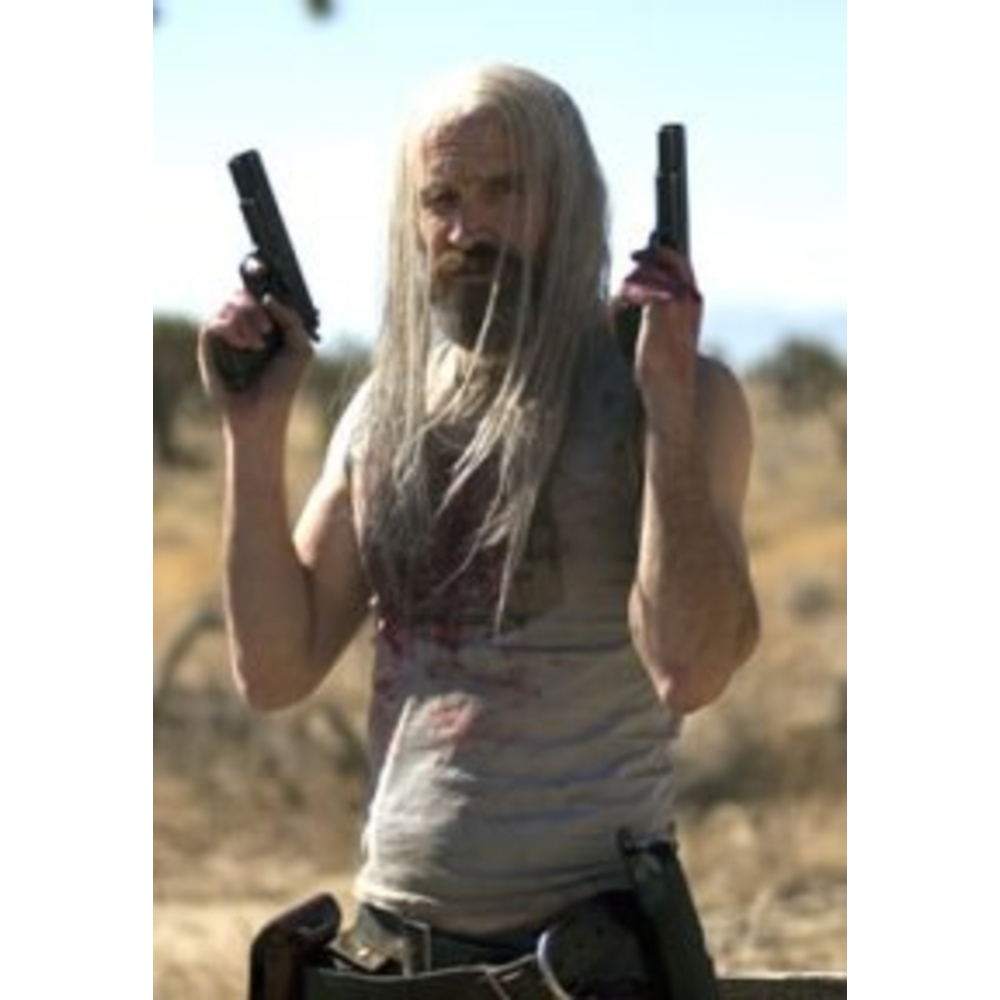 Otis Driftwood Costume - The Devils Rejects Fancy Dress - Otis Driftwood Tank Top