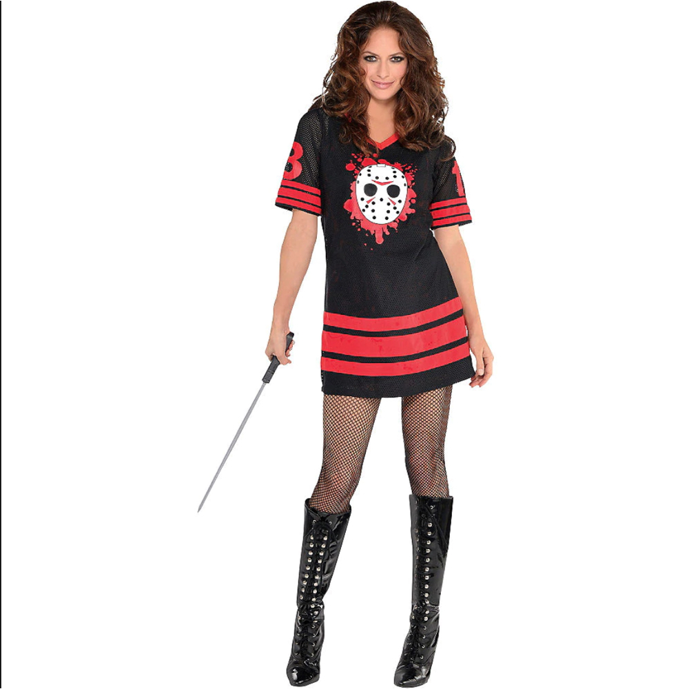 Sexy Jason Voorhees Costume - Miss Voorhees Costume - Friday the 13th - Sexy Jason Vorhees Boots