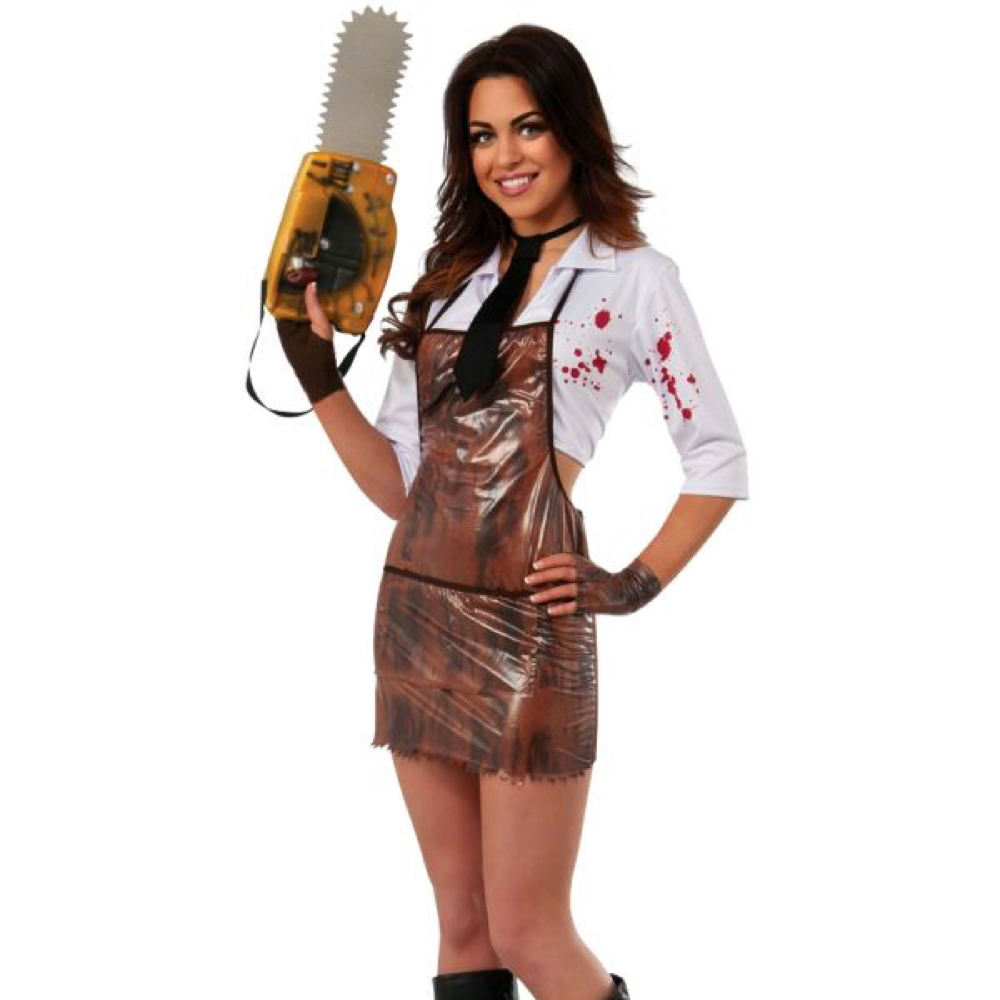 Sexy Leatherface Costume - The Texas Chainsaw Massacre - Sexy Leatherface Blood