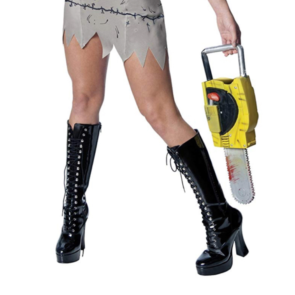Sexy Leatherface Costume - The Texas Chainsaw Massacre - Sexy Leatherface Boots