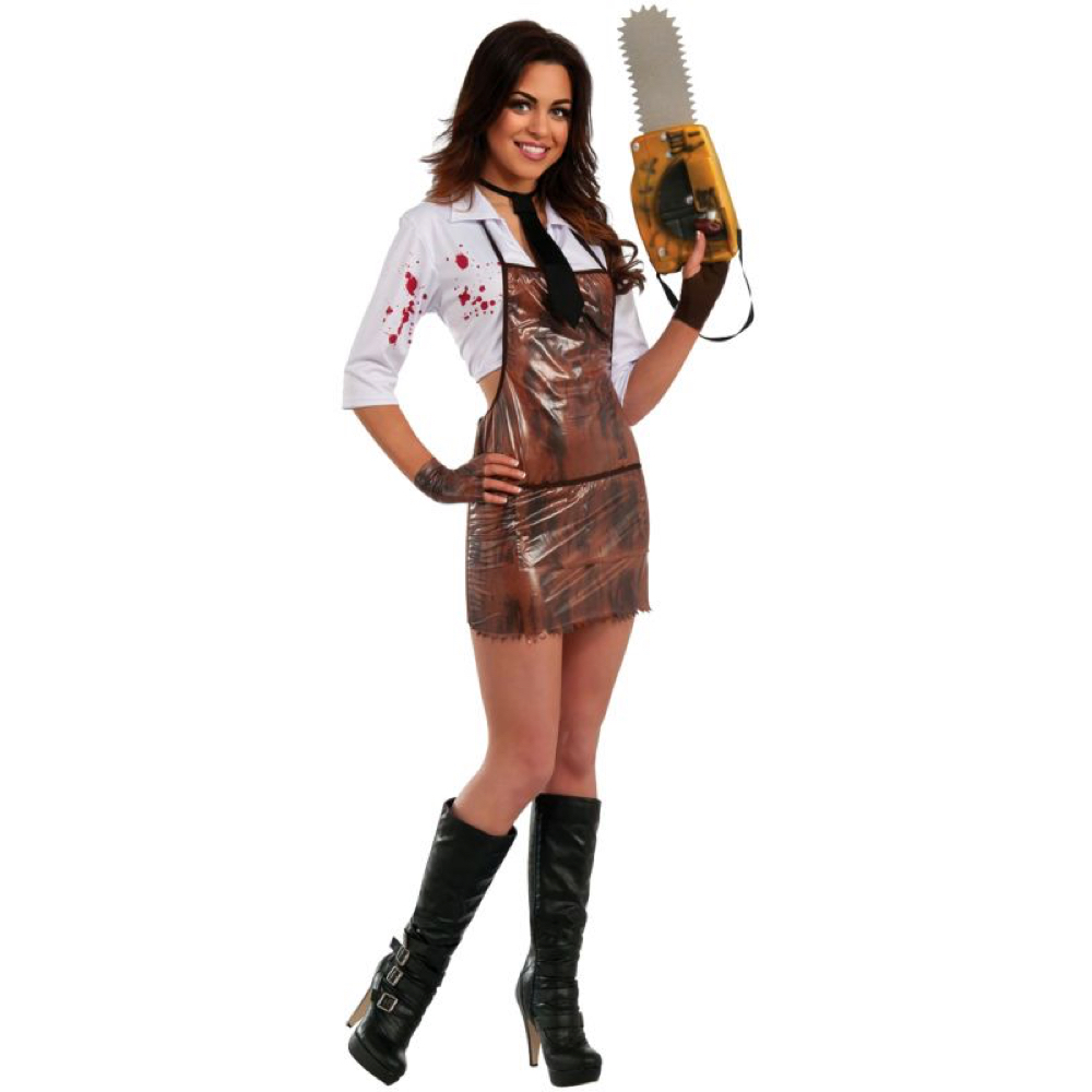 Sexy Leatherface Costume - The Texas Chainsaw Massacre - Sexy Leatherface Shirt