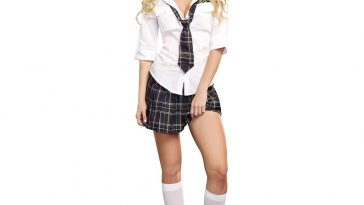 Sexy Schoolgirl Costume - Sexy Schoolgirl Fancy Dress