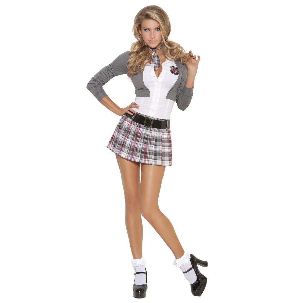 Sexy Schoolgirl Costume - Sexy Schoolgirl Full Costume