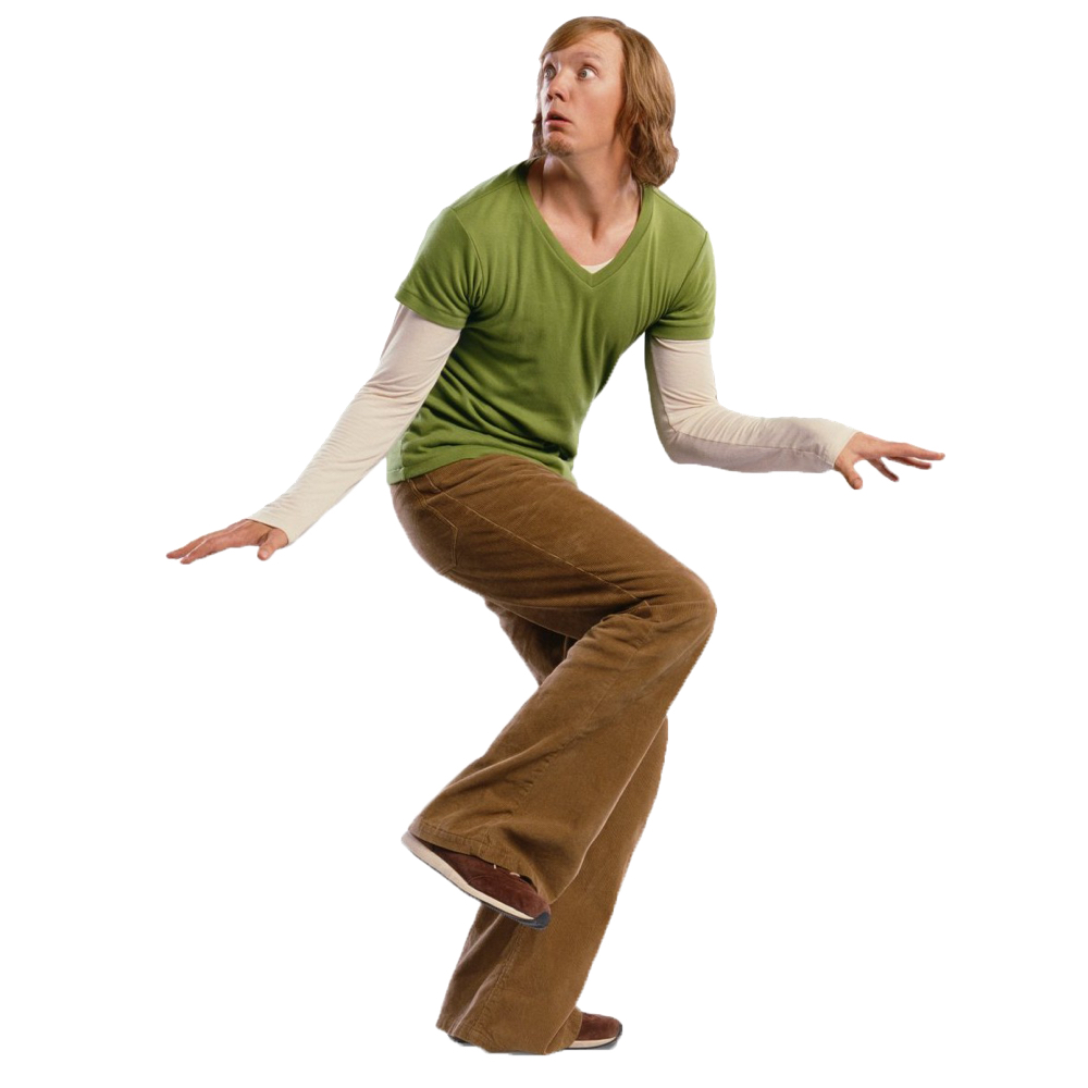 Shaggy Rogers Costume - Scooby Doo Fancy Dress - Shaggy Rogers Shoes