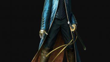 Vergil Costume - Devil May Cry 5 Fancy Dress - Vergil Cosplay