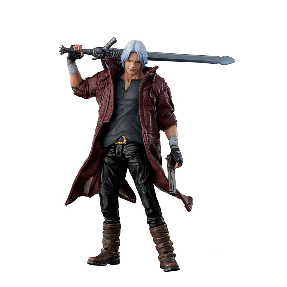 Dante Costume - Devil May Cry 5 Fancy Dress - Dante Boots
