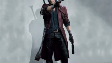 Dante Costume - Devil May Cry 5 Fancy Dress - Dante Cosplay