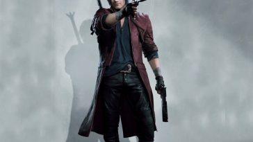 Dante Costume - Devil May Cry 5 Fancy Dress - Dante Cosplay