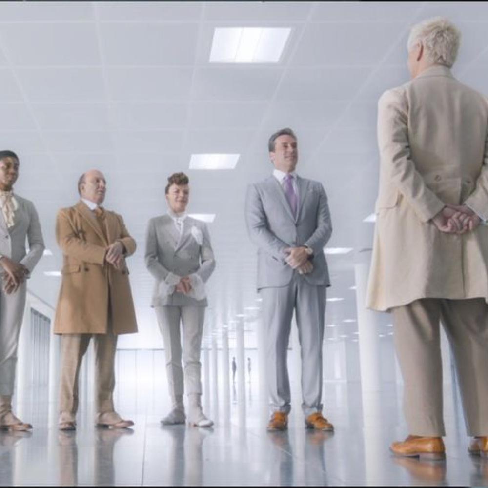 Gabriel Costume - Good Omens Fancy Dress - Gabriel Suit