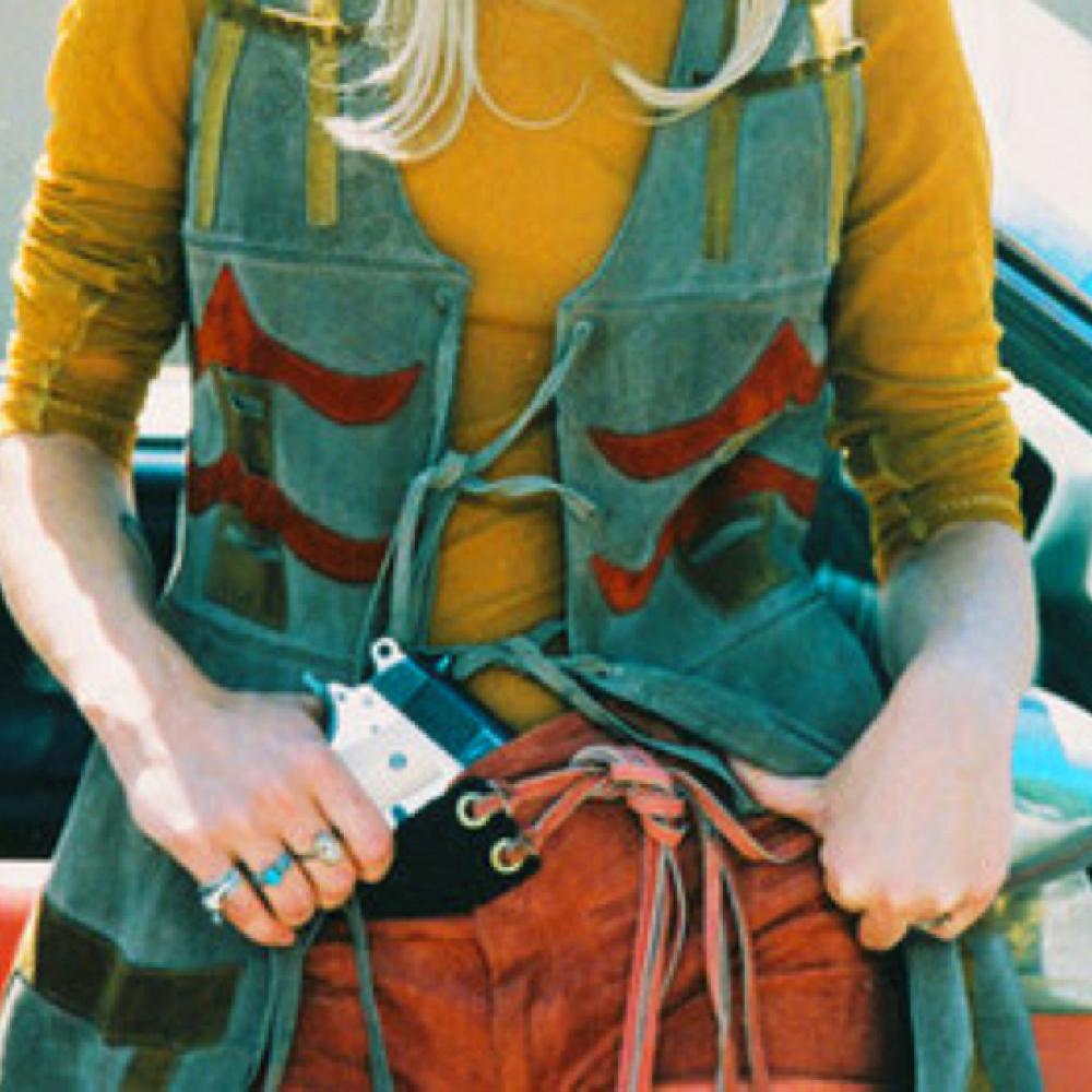 Mallory Knox Costume - Natural Born Killers Fancy Dress - Mallory Knox Red Belt