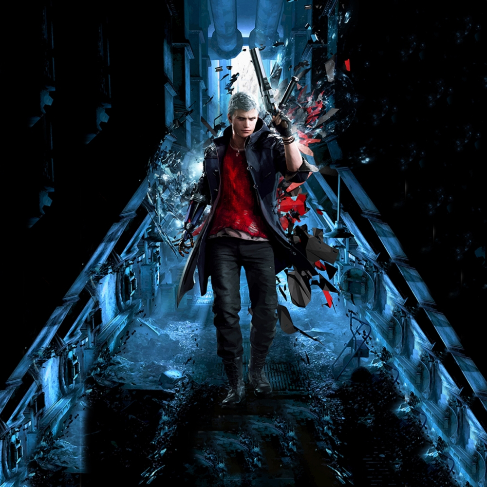 Nero Costume - Devil May Cry 5 Fancy Dress - Nero Boots
