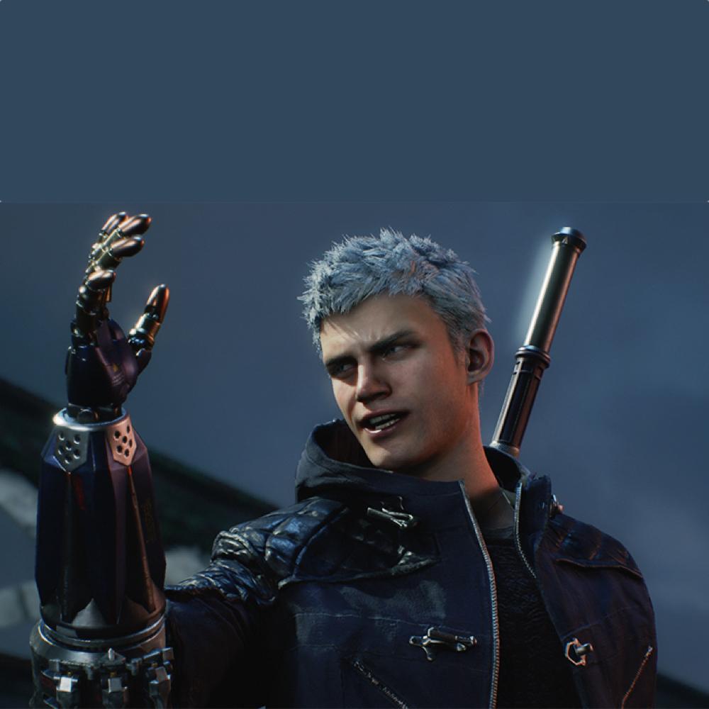 Nero Costume - Devil May Cry 5 Fancy Dress - Nero Devil Breaker