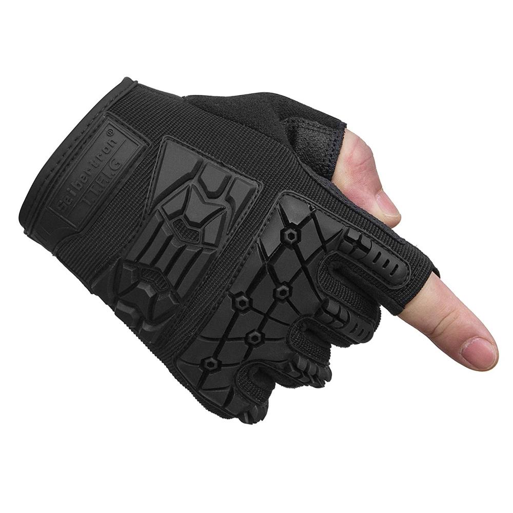 Nero Costume - Devil May Cry 5 Fancy Dress - Nero Fingerless Gloves