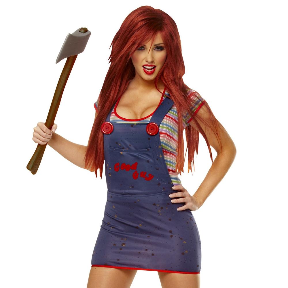 Sexy Chucky Costume - Child's Play Fancy Dress - Sexy Chucky Dress
