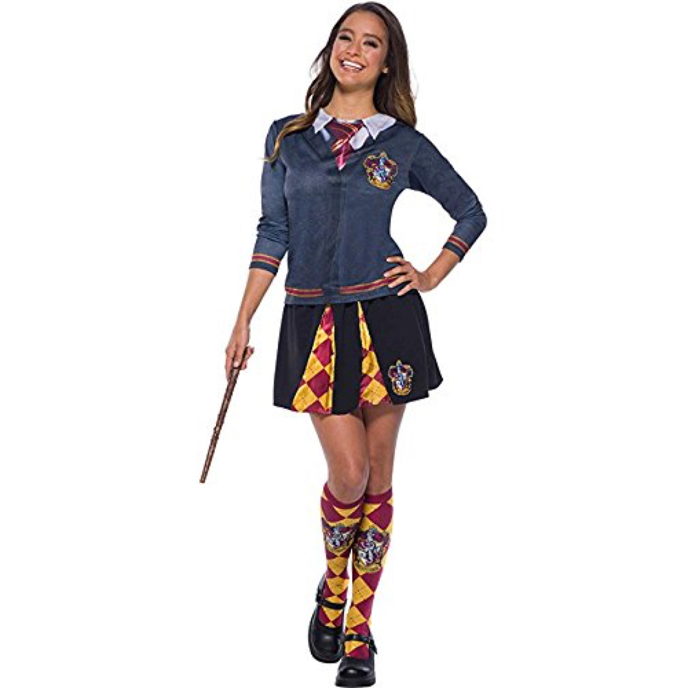 Sexy Hermoine Costume - Harry Potter Fancy Dress for Women - Sexy Heromine Complete Costume