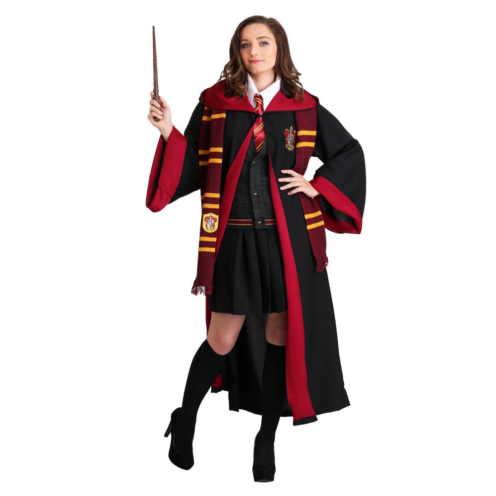 Sexy Hermoine Costume - Harry Potter Fancy Dress for Women - Sexy Heromine Socks