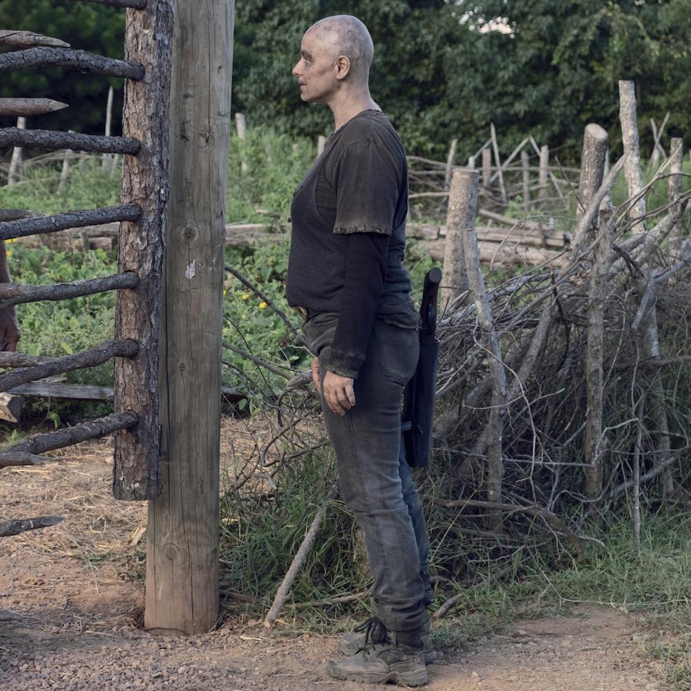 Alpha Costume - The Walking Dead Fancy Dress - Alpha Boots