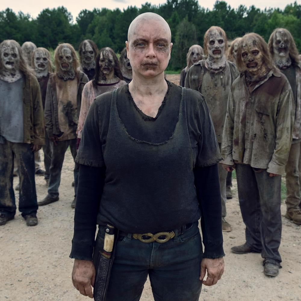 Alpha Costume - The Walking Dead Fancy Dress - Alpha Knife
