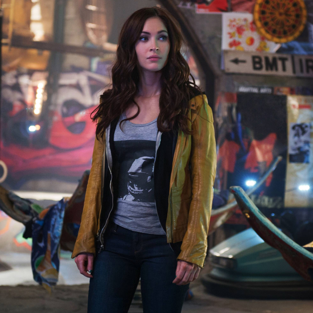 April O'Neil Costume - Megan Fox - Teenage Mutant Ninja Turtles Fancy Dress - April O'Neil Hoodie