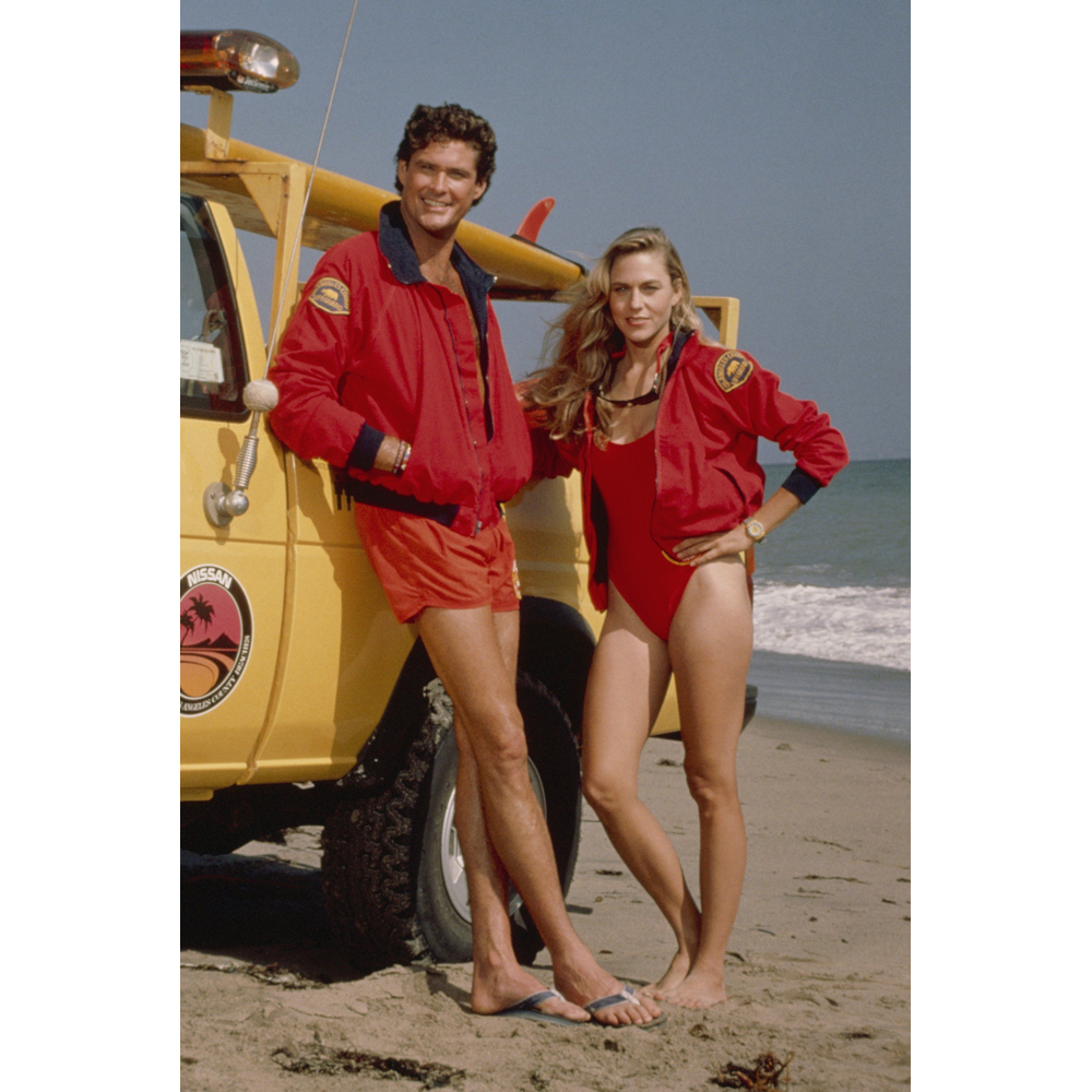 Baywatch Costume - Baywatch Fancy Dress - Baywatch Logo Patch - David Hasselhoff