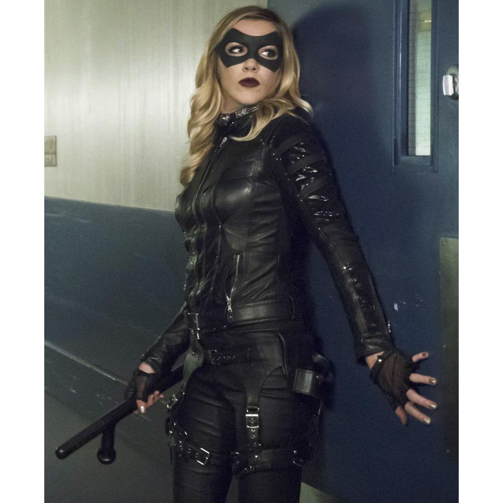 Black Canary Costume - Black Canary Fancy Dress - Black Canary Batton