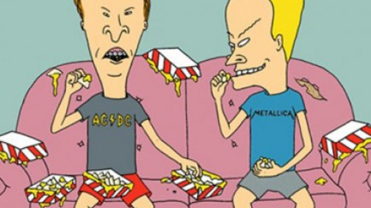 Butt-Head Costume - Beavis and Butt-Head Fancy Dress - Butt-Head Cosplay