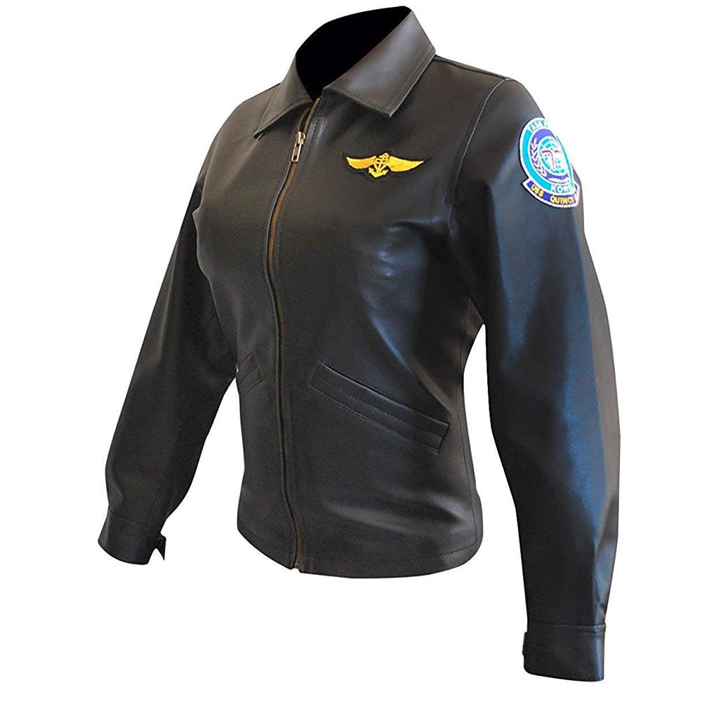 Charlie Blackwood Costume - Top Gun Fancy Dress - Charlie Blackwood Jacket