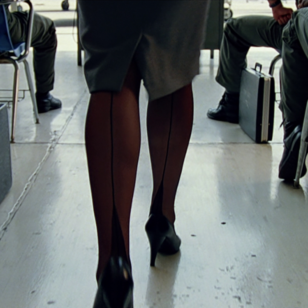 Charlie Blackwood Costume - Top Gun Fancy Dress - Charlie Blackwood Stockings - Kelly McGillis Legs - Kelly McGillis Stockings - Kelly McGillis High Heels